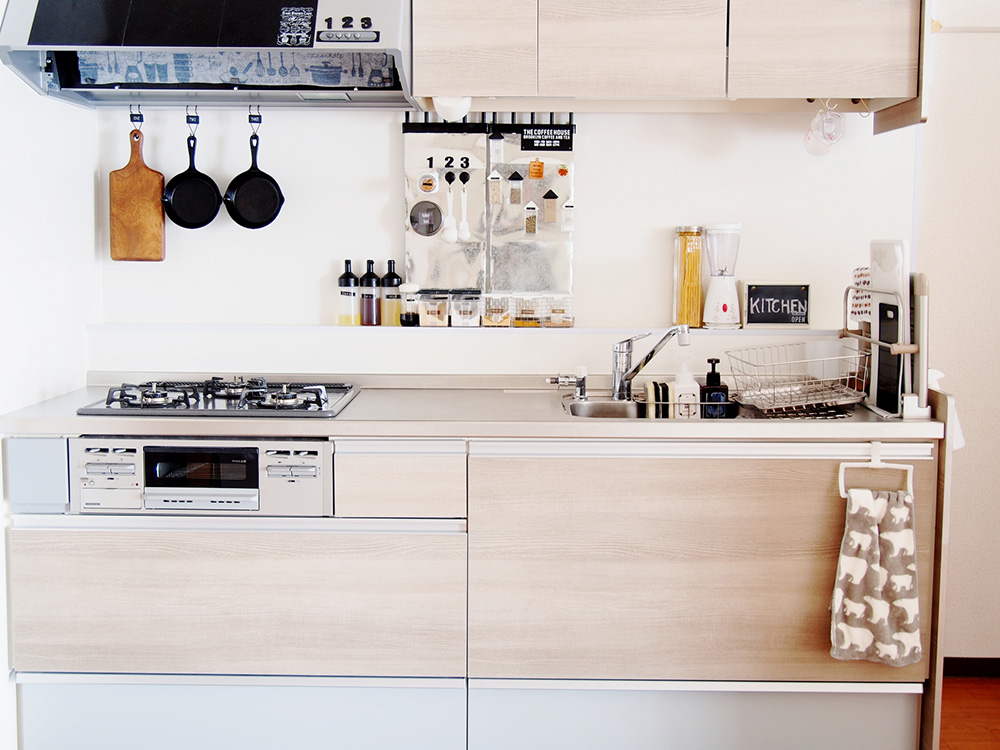 壁付キッチン画像