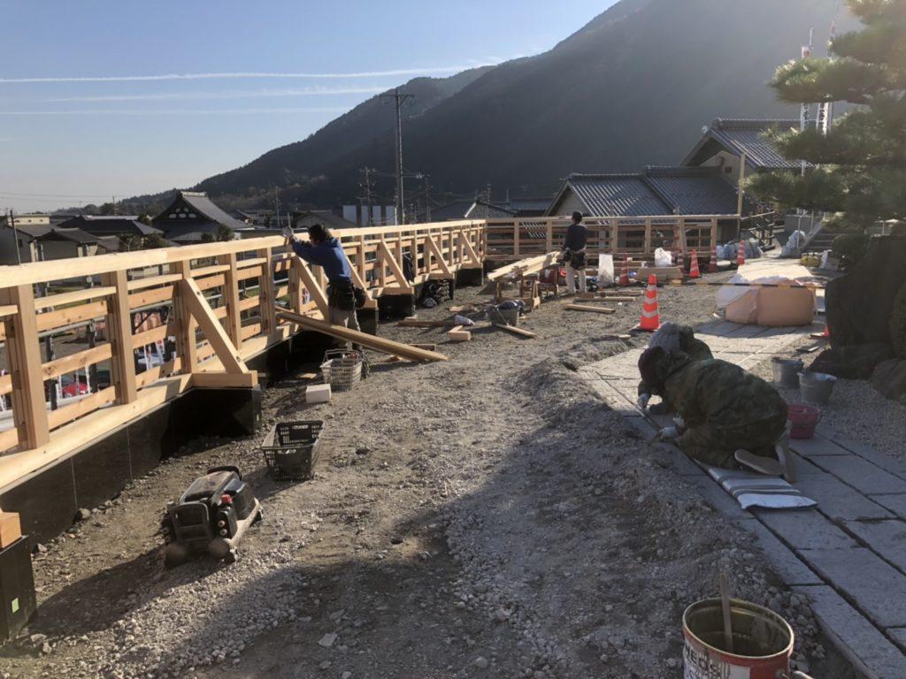 K寺 木塀新設工事